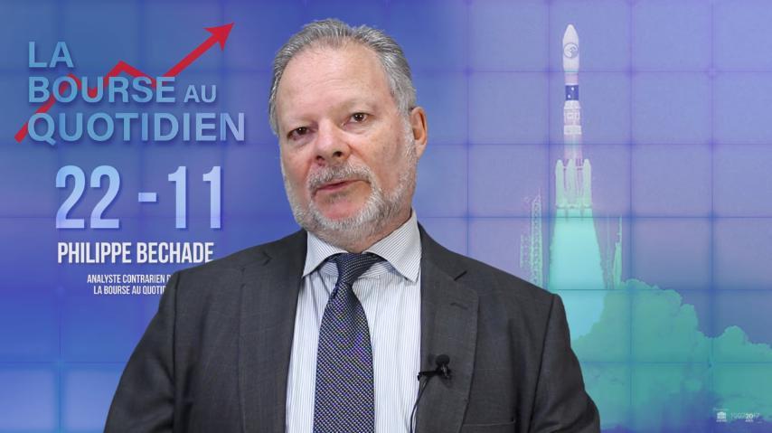 """Philippe Béchade: Séance du Mercredi 22 Novembre 2017: """"Le marché a laissé son cerveau au vestiaire …"""""""