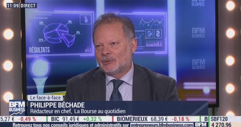 """Philippe Béchade: """"Hier, les sherpas sont venus tirer les indices à la hausse, c"""