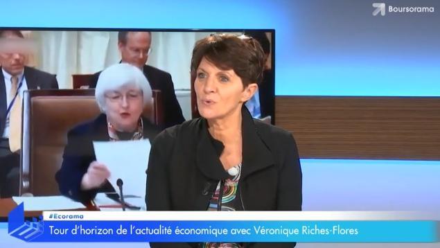 """Véronique Riches-Flores: """"Les marchés sont très très hauts et peuvent continuer à augmenter dans un environnement à haut risque"""""""
