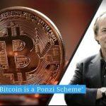 """Jim Rickards: """"Le Bitcoin est une chaîne de Ponzi, il n'y a pas de Madoff mais c'est le même principe"""""""