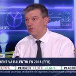 Nicolas Doze: Le secteur du bâtiment va ralentir en 2018