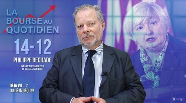 """Philippe Béchade: Séance du Jeudi 14 Décembre 2017: """"Déjà vu … ? Déjà déçu !!!"""""""