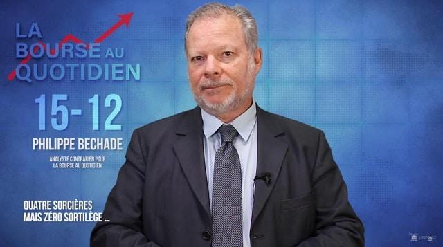 """Philippe Béchade: Séance du Vendredi 15 Décembre 2017: """"Quatre sorcières mais zéro sortilège …"""""""