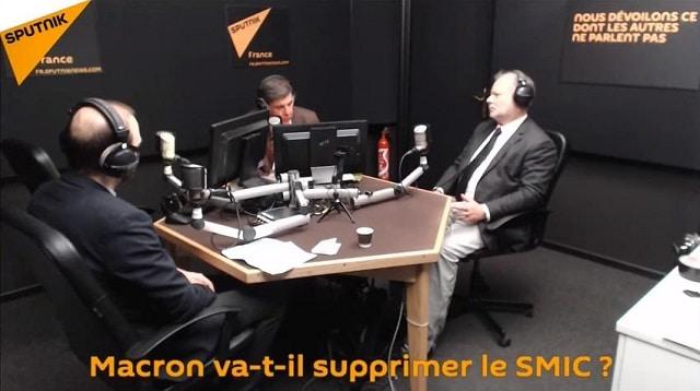 Les chroniques de Jacques Sapir: Macron va-t-il supprimer le SMIC ?... Avec Philippe Béchade