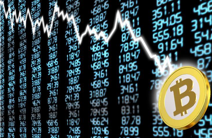 Oups ! Le Bitcoin vient de plonger ce matin sous la barre des 8000 dollars.