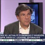 """Jacques Sapir: """"Attention, la structure des dettes dans les banques est un problème et en particulier en Europe."""""""