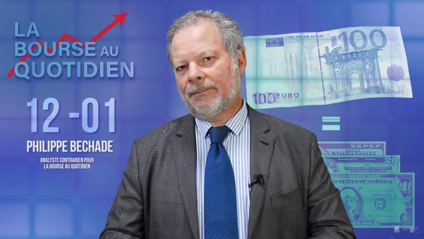 """Philippe Béchade: Séance 12/01/18: """"Et si l'euro fort nous envoyait dans le décor …"""""""