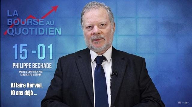 """Philippe Béchade: Séance du Lundi 15 Janvier 2018: """"Affaire Kerviel, 10 ans déjà …"""""""