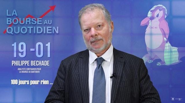 """Philippe Béchade: Séance du Vendredi 19 Janvier 2018: """"100 jours pour rien …"""""""