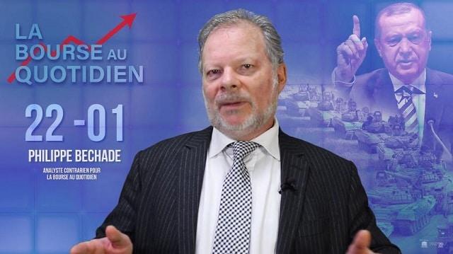 """Philippe Béchade: Séance du 22/01/18: """"Pour prolonger la série haussière, rien ne vaut une bonne guerre !"""""""
