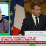 Philippe Béchade sur les vœux à la presse de Macron et les «fake news»