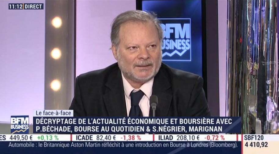 """Philippe Béchade: """"On est au delà de tout ce qu"""