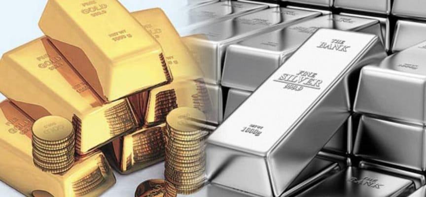 Pourcentage de hausse de l'or et de l'argent dans les principales devises en 2019...
