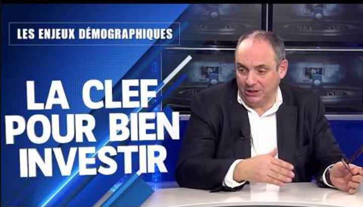 La démographie, la clef pour bien investir ces prochaines années... Avec Olivier Delamarche