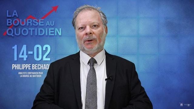 """Philippe Béchade: Séance du Mercredi 14 Février 2018: """"Inflation de fausses frayeurs … !"""""""