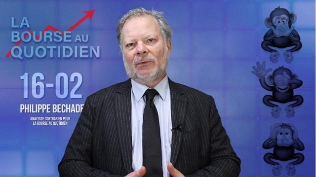 """Philippe Béchade: Séance du Vendredi 16 Février 2018: """"Vous voyez ? Il ne s'est rien passé !"""""""