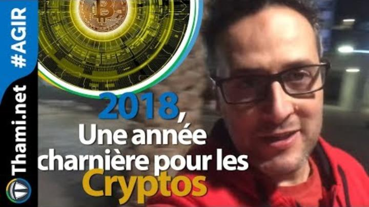 """Thami Kabbaj: """"2018, une année charnière pour les Cryptos ⁉️"""""""