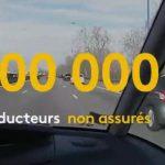 700 000 conducteurs non assurés en France