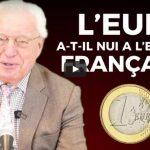 Charles Gave: l'Euro a-t-il nui à l'économie et à la société française ?