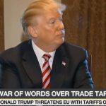 Trump menace les constructeurs automobiles européens si l'U.E répliquait à sa décision de taxes douanières