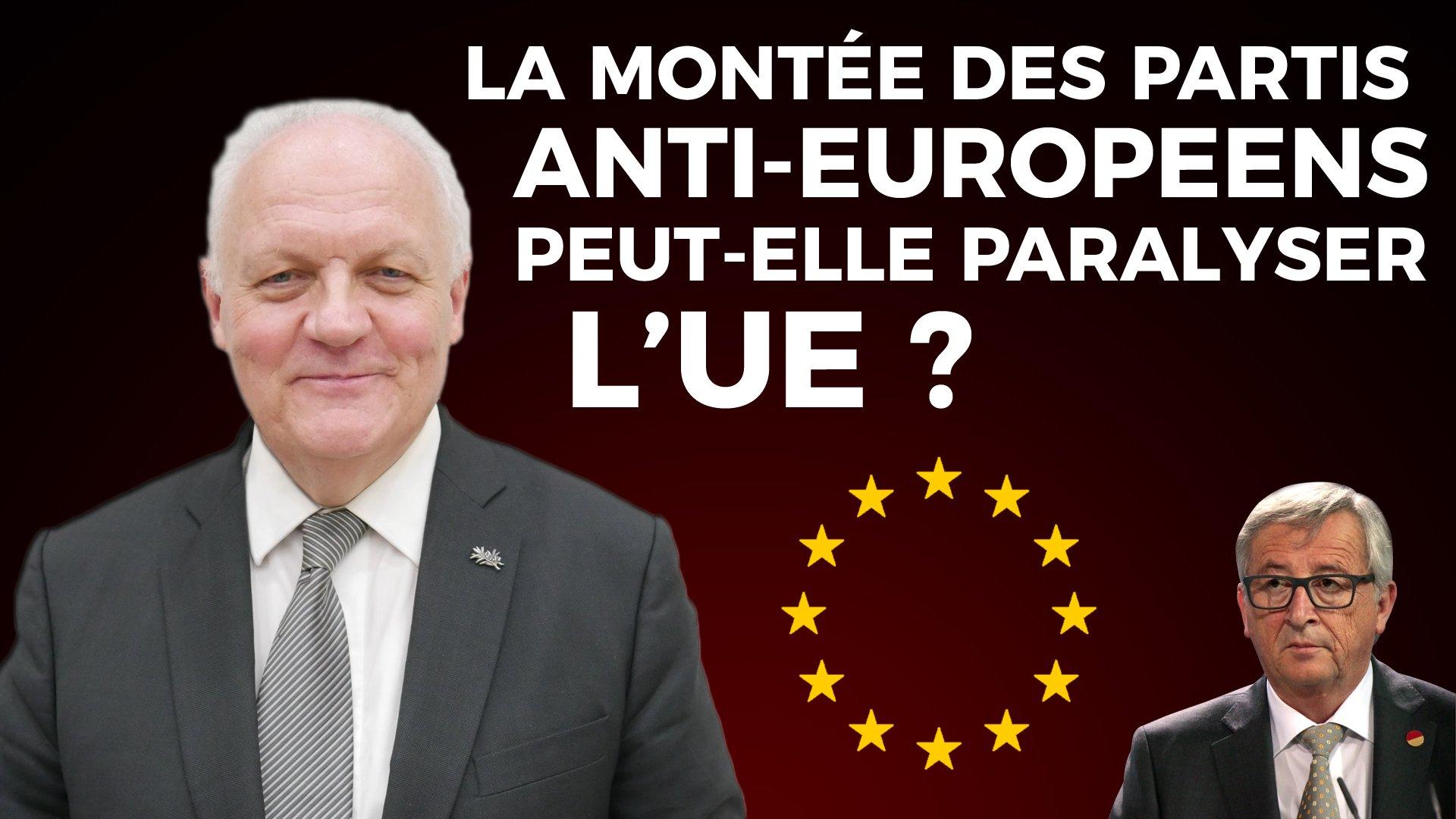 """François Asselineau: """"cette construction européenne est en train de se transformer en une dictature géante qui ne dit pas son nom !"""""""
