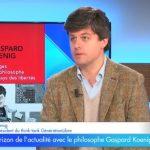 """Gaspard Koenig: """"il faut aussi s'attaquer au statut des hauts fonctionnaires de l'administration !"""""""