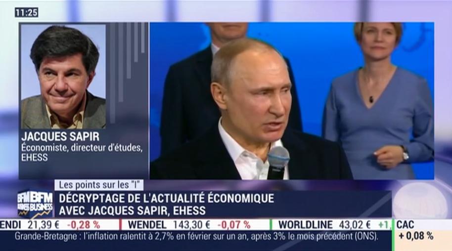 Zoom sur les situations politique et économique de la Russie... Avec Jacques Sapir