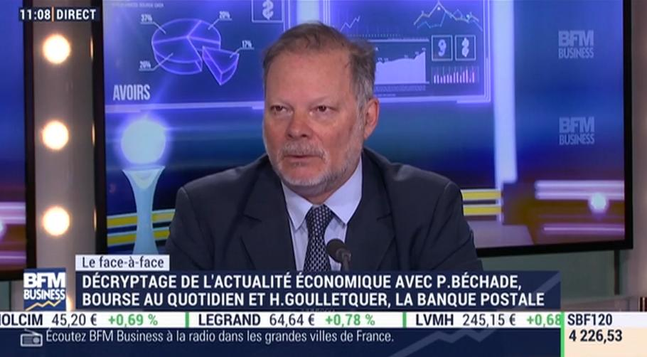 """Philippe Béchade: """"Il y a clairement un problème avec l"""