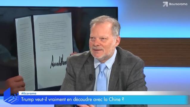 Trump veut-il vraiment en découdre avec la Chine ?... Avec Philippe Béchade