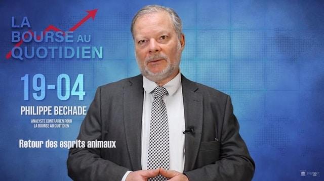 """Philippe Béchade – Séance du Jeudi 19 Avril 2018: """"Retour des esprits animaux"""""""