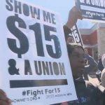 USA: Avec un salaire minimum autour de 7€/h, les manifestations se répandent dans tout le pays pour exiger le double