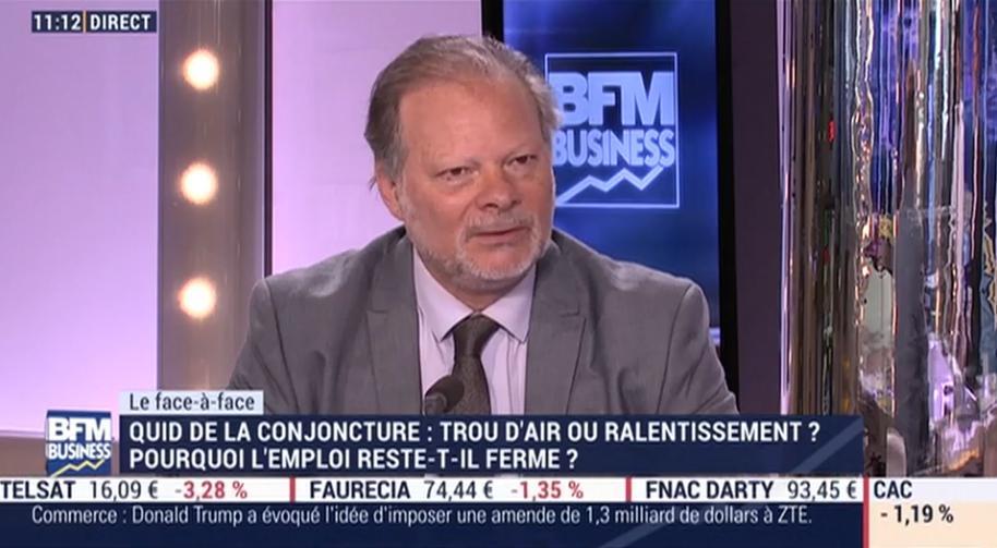 """Philippe Béchade: """"Les ménages US sont beaucoup plus endettés aujourd"""