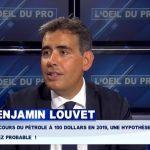 """Benjamin Louvet: """"Les cours du pétrole à 100$ en 2019, une hypothèse assez probable !"""""""