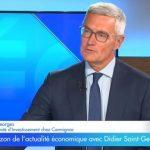 """Didier Saint-Georges: """"Le retournement des marchés pourrait venir du ralentissement économique"""""""