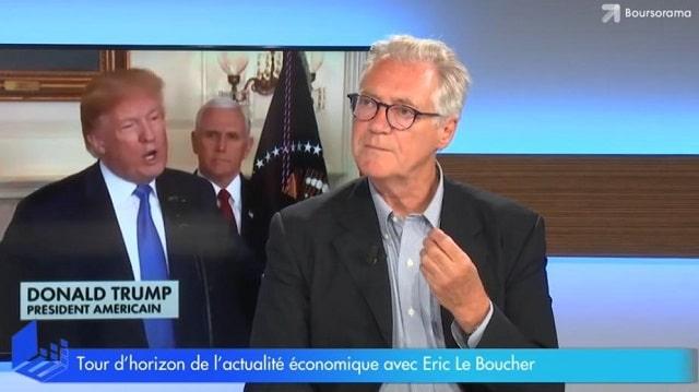 """Eric Le Boucher: """"Trump installe le monde dans le chaos et les marchés ont bien raison de s"""