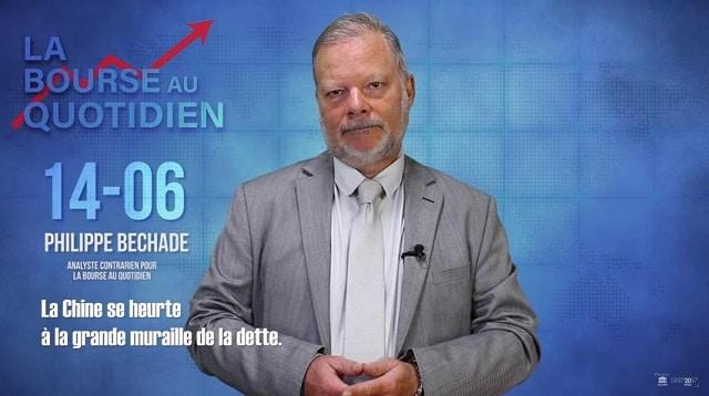 """Philippe Béchade – Séance du Jeudi 14 Juin 2018: """"La Chine se heurte à la grande muraille de la dette."""""""