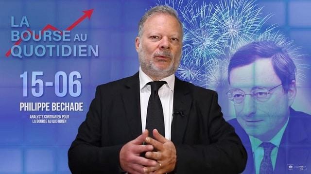"""Philippe Béchade – Séance du Vendredi 15 Juin 2018: """"Divergente, euphorisante ou inconséquente …"""""""