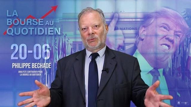 """Philippe Béchade – Séance du 20/06/18: """"La fausse monnaie, ça engendre des faux signaux …"""""""