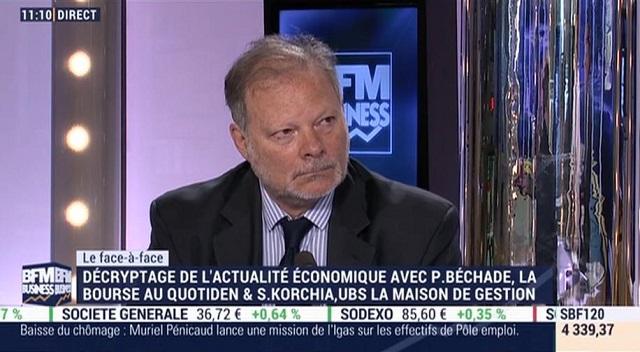 """Philippe Béchade: """"Sur les marchés, c"""