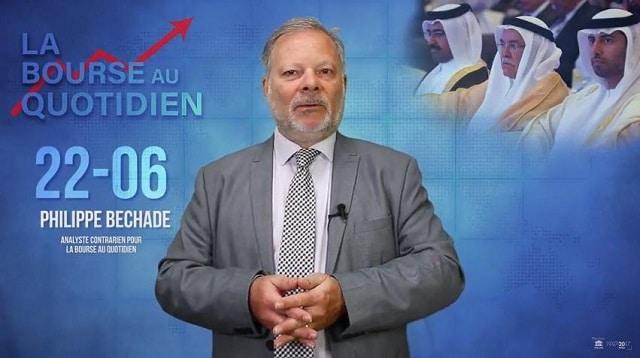"""Philippe Béchade – Séance du Vendredi 22 Juin 2018: """"Ça barde à l"""