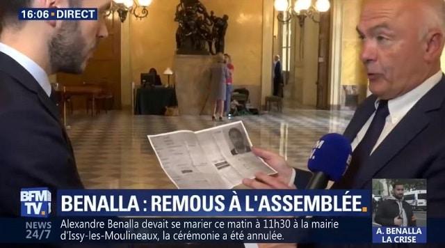 """Révélation choc: """"Monsieur Benalla avait un accès privilégié à l"""