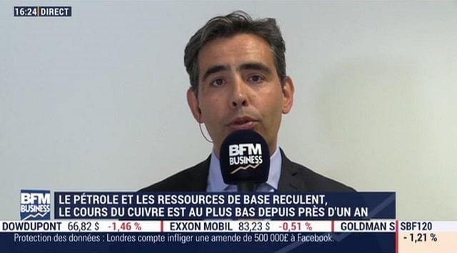 """Benjamin Louvet: """"Si un ouragan se dirigeait vers les plateformes pétrolières du golfe du Mexique, le pétrole pourrait taper les 90 voire 95$ le baril !"""""""