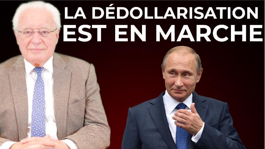 """Charles Gave: """"La dédollarisation du monde, la Chine s"""