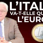 "Charles Gave: ""L'Italie va sortir de l'euro !"""