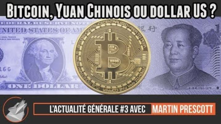 """E-meute.com: """"Bitcoin, Yuan Chinois ou Dollar US ? Le grand gagnant du jour est...."""""""