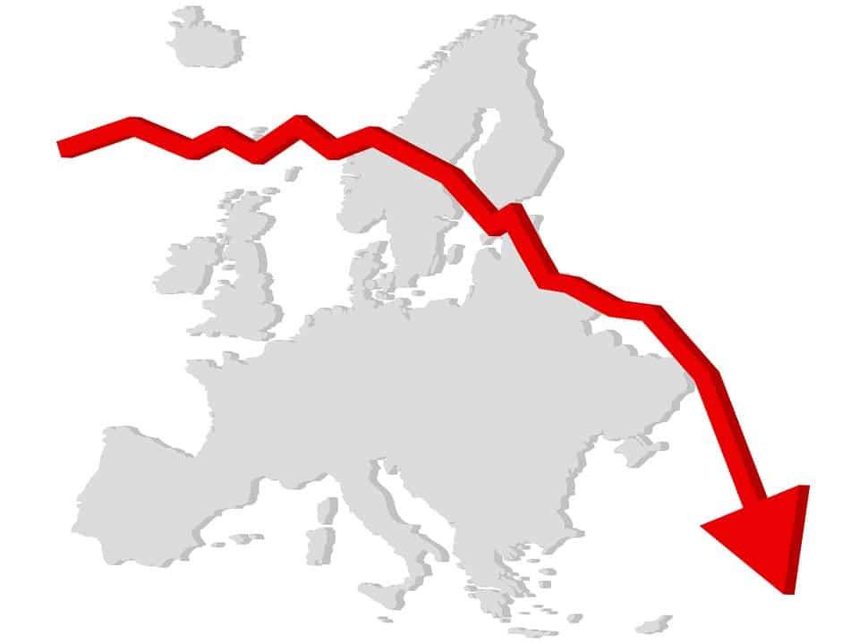L'activité manufacturière au sein de la zone euro est aujourd'hui aussi faible qu'elle l'était à l'issue de la crise financière mondiale.