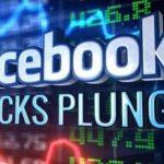 Bourse: Facebook perd plus de 100 milliards d'euros en une séance