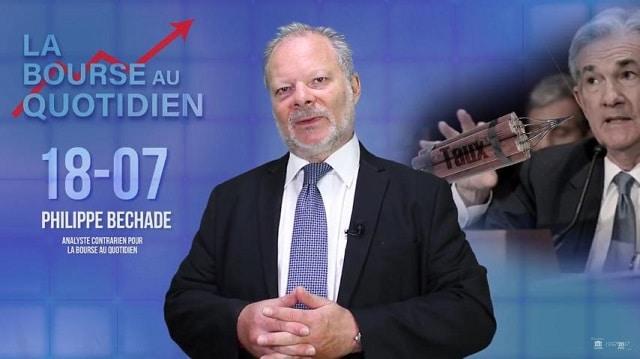 """Philippe Béchade – Séance du Mercredi 18 Juillet 2018: """"Si la FED monte les taux, c'est pour que les marchés aillent plus haut !"""""""
