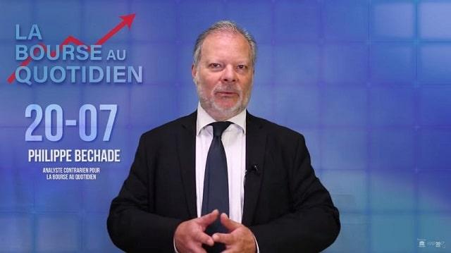 """Philippe Béchade – Séance du Vendredi 20 Juillet 2018: """"Le yuan perd 8% en 3 mois, mais Trump ne s"""