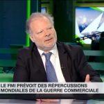 Philippe Béchade sur RT France: Inquiétude du FMI face à la guerre commerciale